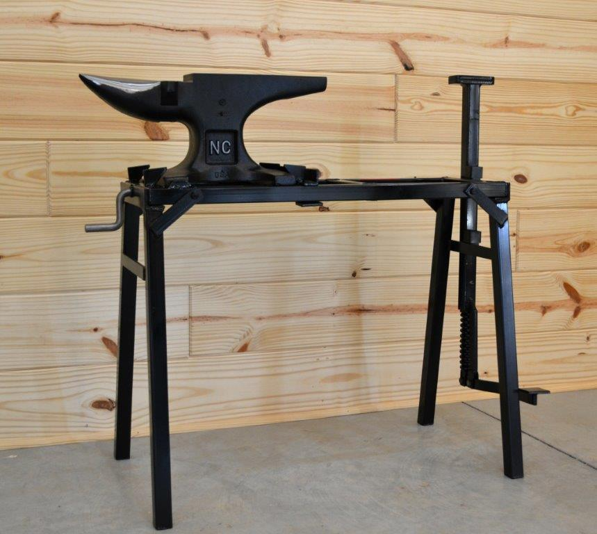 Phenomenal Nc Tool Folding Anvil Stand With Vise Machost Co Dining Chair Design Ideas Machostcouk